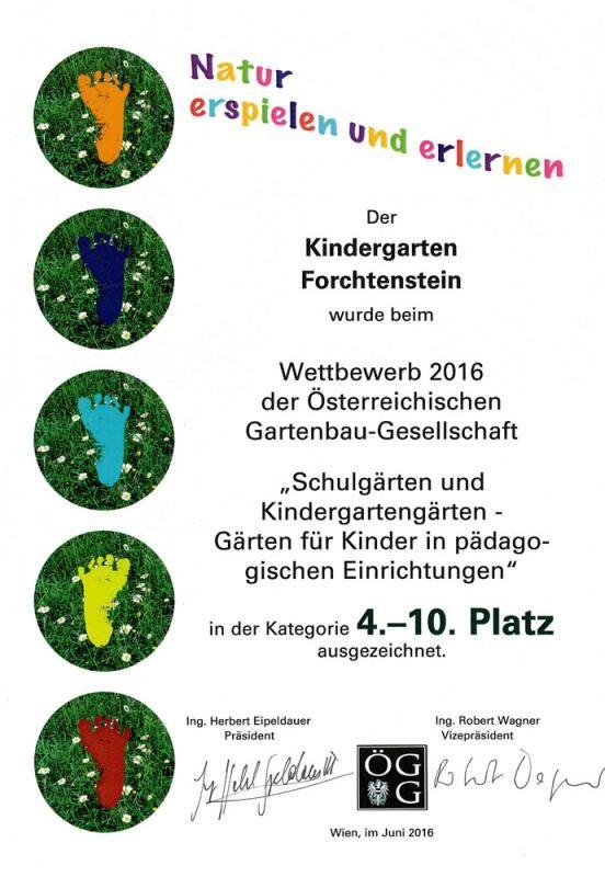kindergarten-forchtenstein-auszeichnung-2016-natur