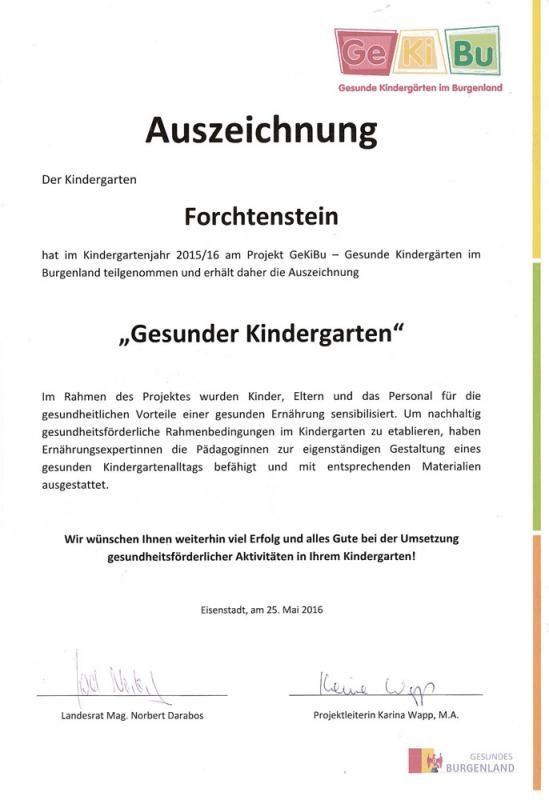 kindergarten-forchtenstein-auszeichnung-2016-gesunder-kindergarten