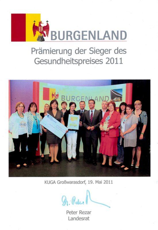 kindergarten-forchtenstein-auszeichnung-gesundheitspreis-2011
