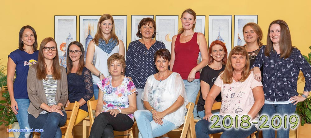 Kindergarten Forchtenstein Team 2018/2019